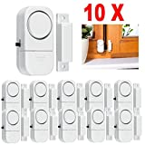 10X WIRELESS Home Window Door Burglar Security ALARM System Magnetic Sensor