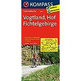 Vogtland - Hof - Fichtelgebirge: Fahrradkarte. GPS-genau. 1:70000 (KOMPASS-Fahrradkarten Deutschland, Band 3081)