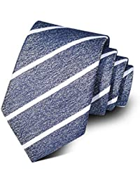 Men Ties Jacquard Silk Neckties Paisley Fabric Neck Ties Pure Color Striped and Dot Pattern Ties for Formal Suit
