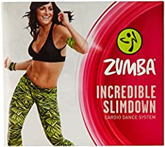 Zumba Fitness presents the Incredible Slimdown DVD System featuring five workout DVDs (Global Burst DVD is in a separate sleeve inside the box) - with English and Spanish options...a digital copy so you can access your workout anywhere/anytim...