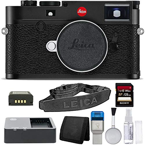 (Leica M10 Digital Rangefinder Black Camera Basic)