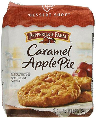 (Pepperidge Farm Caramel Apple Pie Soft Dessert Cookies Limited Edition)