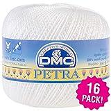 DMC 98757 Petra Crochet Cotton Thread Size 6 16/Pk-B5200, 16 Pack