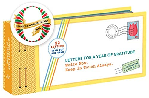 Letters For A Year Of Gratitude Write Now Keep In Touch Always