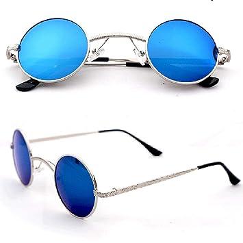 BHLTG Gafas de Sol para Hombres y Mujeres Retro Prince ...