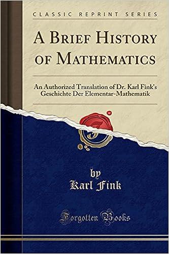 brief history of math