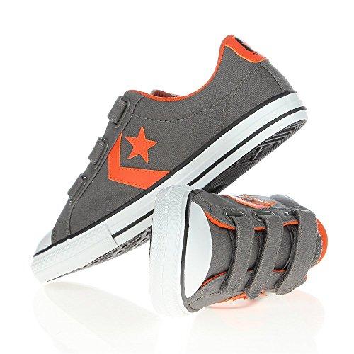 ConverseStar Player Ev3 - Zapatillas de Deporte Niños-Niñas - Noir (Vert Blanc)