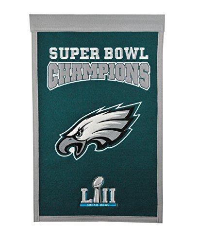 (NFL Philadelphia Eagles Super Bowl 52 Champions Banner)