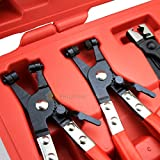 Generic YC-AUS2-150919-144 <8&15441> HANIC'Slier Assort Hose Clamp Plier 7pc Deluxe Assortment Kit Flexible Flexible Tool Set MECHANIC'S 7pc Deluxe