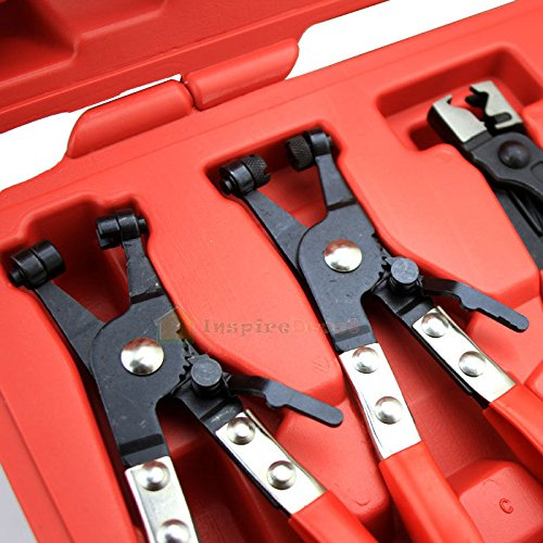 Generic NV_1008001544_YC-US2 NIC'Sble Hose Clamp Plier lamp 7pc Deluxe Asso Assortment Kit Flexible t Kit Flexible ible Tool Set MECHANIC'S 7pc Del