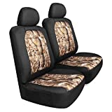 camouflage seat cover for cars - Pilot SC-445CA Canvas Camo Seat Covers for Front Seats - 6 Piece Set