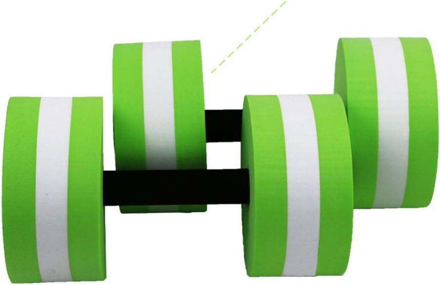 Homsesweet - Mancuernas de Espuma para Ejercicios aeróbicos de Resistencia a la Piscina, Agua, Fitness, Ejercicios, Equipo para pérdida de Peso