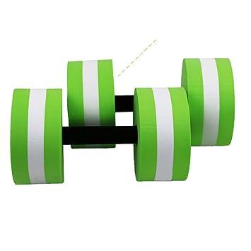omufipw - Mancuernas de espuma para ejercicios aeróbicos de resistencia al agua para piscina, equipo