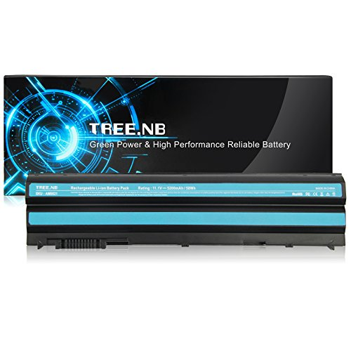 T54FJ Battery, Tree.NB Laptop Battery (UPGRADED Cells) for Dell Latitude E6420 E5420 E5520 E6520,P/N:312-1163 451-11704 HCJWT 312-1242 X57F1 M5Y0X KJ321 T54F3, High Performance Replacement Batteries
