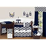 Sweet-Jojo-Designs-Navy-Blue-and-White-Chevron-Collection-Crib-Bumper