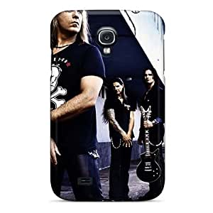 Samsung Galaxy S4 HoG7029kNvY Allow Personal Design Beautiful Helloween Band Series Shock Absorption Hard Cell-phone Case -Marycase88