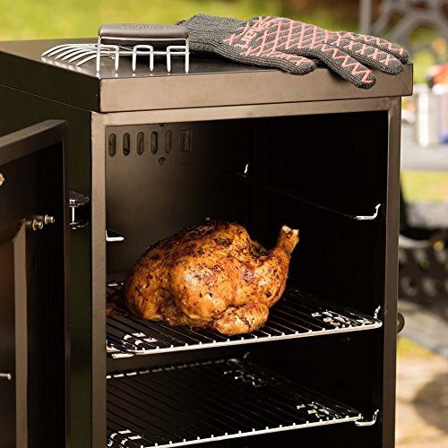 Cuisinart COS-244 Vertical 36'' Propane Smoker, Black by Cuisinart (Image #4)