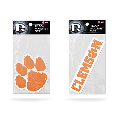 NCAA Clemson Tigers Small Magnet Set (2 Pack), 11'' x 6.5'' x 25'', Orange by Rico
