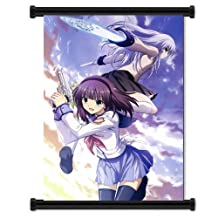Angel Beats Anime Fabric Wall Scroll Poster (16x23) Inches