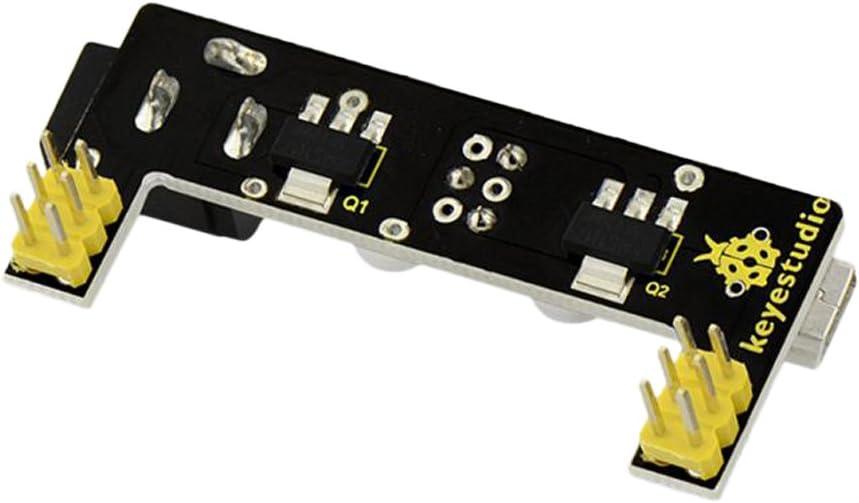 DC 7V-12V Input 3.3V//5V Output MB102 Breadboard Power Supply Module
