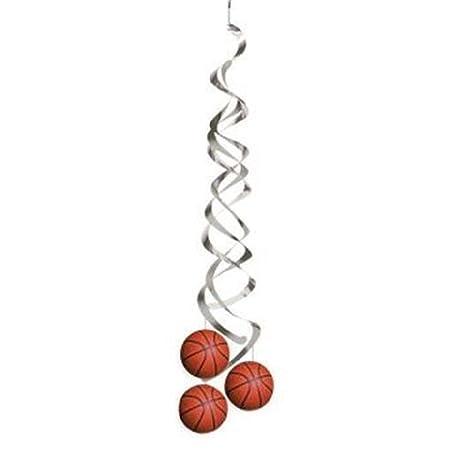 Hersrfv - Juego de 2 Colgantes de Baloncesto para decoración de ...