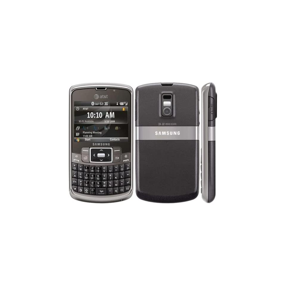 Samsung Jack I637 Unlocked GSM Phone with QWERTY Keyboard, WM6.1, GPS, Wifi, 3 MP Camera and 3G Support