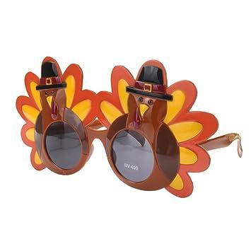 Novelty Cartoon Turkey Eyeglasses Fancy Dress Costume Thanksgiving Day Gift