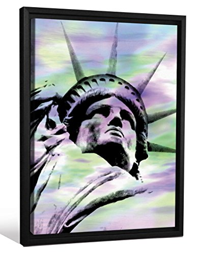 JP London  Statue of Liberty Tie Dye Skyscape Rainbow