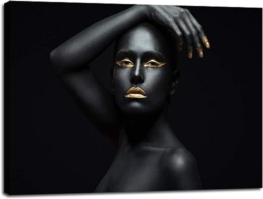 Makeup salon beauty women Quality 100/% cotton Canvas wall arts home decor canvas