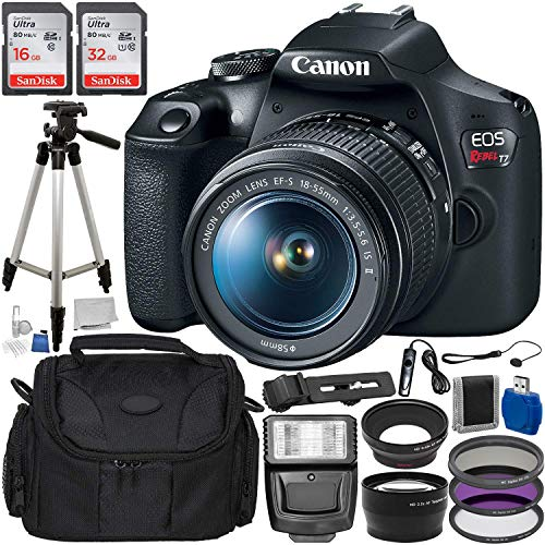 Canon EOS Rebel T7 Digital SLR Camera with 18-55mm for sale  Delivered anywhere in USA