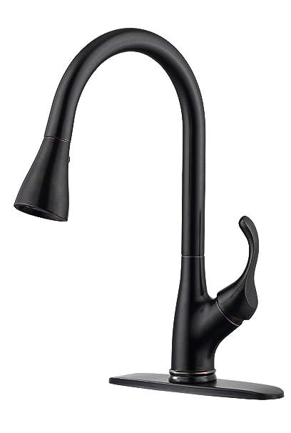 Amazon.com: Aparaso Grifo de cocina de acero inoxidable con ...