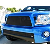 GrillCraft TOY1946B MX Series Black Upper 1pc Mesh Grill Grille Insert for Toyota Tacoma