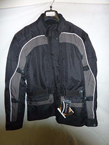 (River Road Taos Waterproof Women's Textile Jacket Motorcycle Jacket MD)