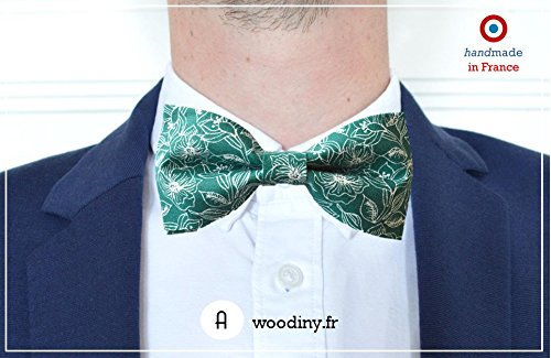 - Fast shipping Liberty fabric woodiny.fr Handmade by Woodiny Bow Tie Montsouris