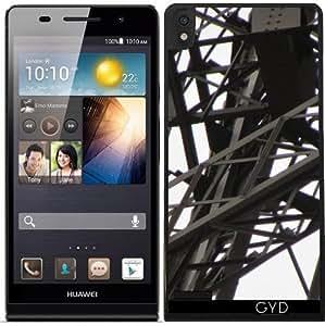 Funda para Huawei Ascend P6 - Torre Eiffel, París 1 by Cadellin