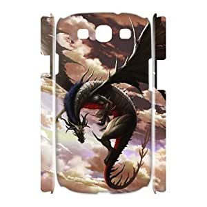 ALICASE Cover Case Dragon 3D Diy For Samsung Galaxy S3 I9300 [Pattern-1]
