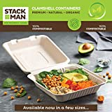 100% Compostable 7 Inch Paper Plates