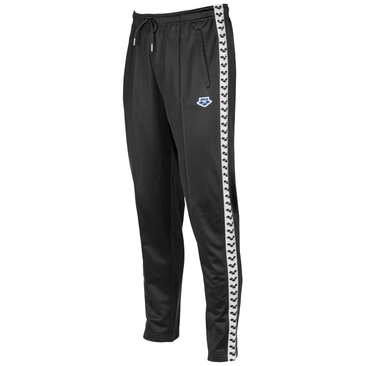 Arena Relax IV Team Pants Men schwarz-Weiß-schwarz 2018 Hose lang