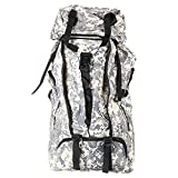 K&A Company 90L Outdoor Tactical Bag Climbing Backpack Waterproof Mountaineering Camping Hiking Trekking Rucksack, Gray Camo