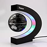 Yosoo C shape Decoration Magnetic Levitation Floating Globe World Map ...
