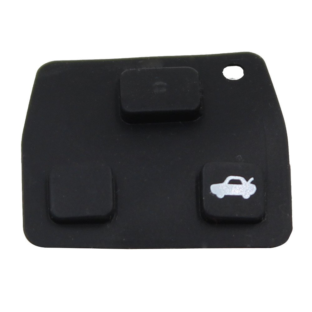 2 or 3 Button Rubber Pad for Toyota remote key