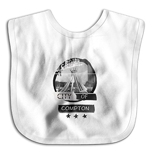 City Of Compton Forever 2017 New Arrival Waterproof Bibs Cute Baby Waterproof Bib (City Of Compton Jobs)