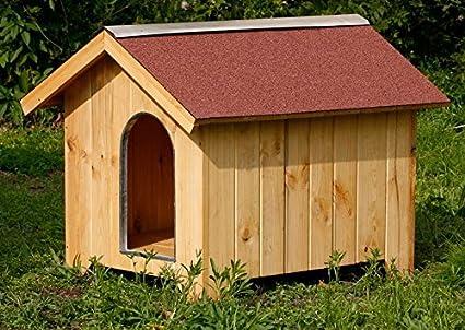 44.10000.03 Garten Pro Caseta para perro de madera