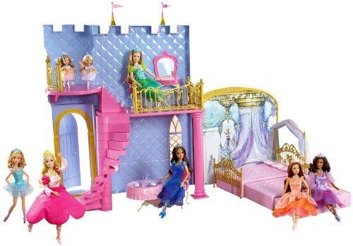 Dancing Princesses Dance 12 - Barbie in The 12 Dancing Princesses: Magical Dance Castle