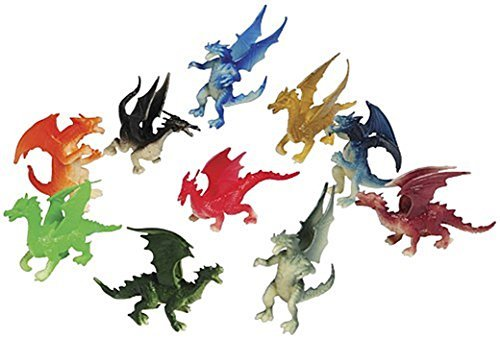 3 Dozen (36) Mini DRAGON Toy Figures - 2