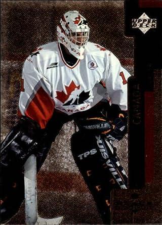 Amazon Com 1997 Black Diamond Hockey Rookie Card 1997 98 131