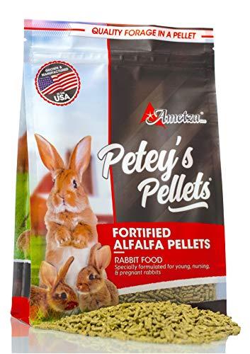 Petey's Fortified Alfalfa Hay Pellets - Rabbit Food