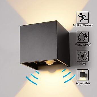 Relativ Wandleuchte Bewegungsmelder Aussen/Bewegungsmelder Innen LED JH94