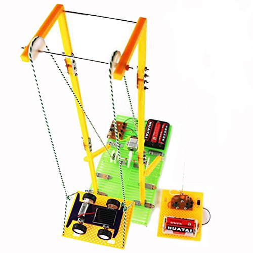 BangBang DIY Assembly Educational Toys Model RC Electric Elevator