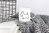 LIZNICE - Scottish Terrier, Dog Coffee Mug, Minimalist Gift, Scottish Terrier Gift, Dog Lover Gift, Dog Coffee Cup, Animal Lover, Dog Gift Ideas MUG 15oz
